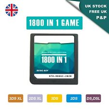 DS Game 1800 in 1 Nintendo Cartridge Game Card for 3DSXL 2DSXL DS Pokemon Mario