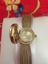 ANNE KLEIN LADIES WOMEN WATCH GENUINE DIAMOND AT 12 O'CLOCK POSITION STUNNING