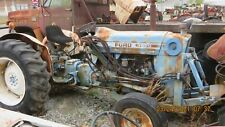 Ford 3600 Diesel Tractor With Blade Trencher Amp Creeper Gear