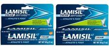 LAMISIL AT - SET OF (2) 1 oz (30 g) Athletes Foot Antifungal Cream EX 2022