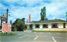 Champigny P. Q. Canada Diner Petit Hameau Roadside 1958 Postcard