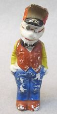 """THE SKIPPER Toonerville Trolly 1930's Japanese 3 1/8"""" bisque figure Fontaine Fox"""