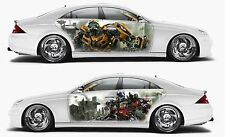 Vinyl Car Side Body Graphics Decal Sticker Transformers Optimus Prime Bumblebee