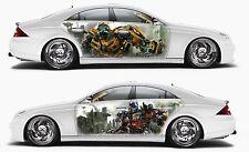 Vinyl Car Side Body Graphics Decal Sticker Transformers Optimus Prime Bumblebee
