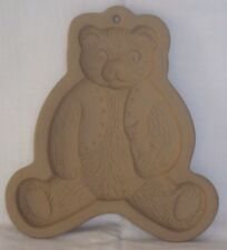Brown Bag Cookie Candy Art Mold Retired 1984 TEDDY BEAR