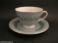 Blue Vintage Original Mid-Century Modern Pottery, Glass