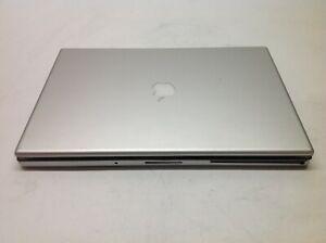 "APPLE Macbook Pro A1151 Laptop 17""C2D 2GBRAM 120GBSSD LATE2006 NO BATTERY"