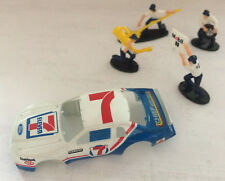 Tyco Slot Car Body y equipo en boxes Ford Thunderbird 7-11HO Escala