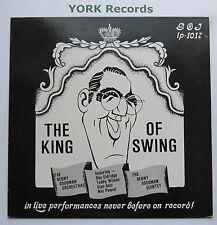BENNY GOODMAN - The King Of Swing - Ex Con LP Record Giants Of Jazz GOJ-1017