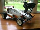 Vintage Original Futaba FX10 Off Road RC Buggy Red White With Remote