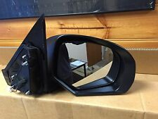 SUZUKI Drivers Side Right REAR VISION MIRROR. NOS NEVER BEEN FITTED. BLACK 2012