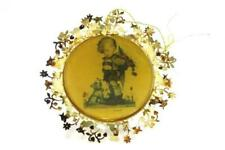 Vintage Hummel 24K Gold Christmas Ornament Collection Not For You 1987