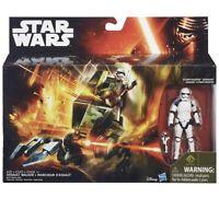 Disney Star Wars Assault Walker The Force Awakens w/ Stormtrooper Sergeant NIB A