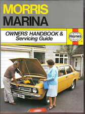 Morris Marina 1.3 1.8 1.8TC Owners Handbook & Servicing Guide Pulished by Haynes