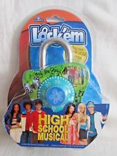 NEW 2008 HIGH SCHOOL MUSICAL Combination Lock