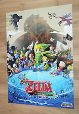 The Legend of Zelda The Wind Waker HD / Skylanders Rare Poster 55x42cm Wii U