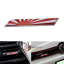 Front Grille Side Fender Trunk Flag Emblem Plate Badge Car Decoration