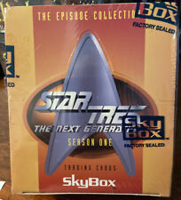 1994 STAR TREK: THE NEXT GENERATION - SEASON ONE - SEALED BOX