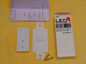LED Wholesalers DM01 3371RMT RF Transmitter Decora Wall Switch Controller