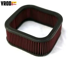 Harley Vrod Nightrod Muscle rep 29793-02c air filter element kn style IN OZ