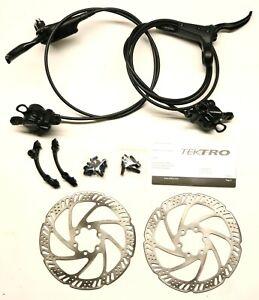 Tektro HD-M285 Hydraulic Disc Bike Brakeset - FRONT & REAR - 160mm 6-Bolt Post