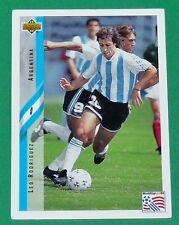 FOOTBALL CARD UPPER DECK 1994 USA 94 LEO RODRIGUEZ ARGENTINA ARGENTINE