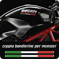 2 Bandierine Italia per DUCATI MONSTER