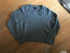 Forever 21 acrylic grey long sleeve sweater size medium M