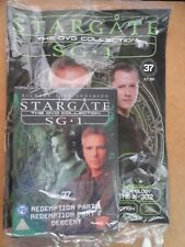 DVD COLLECTION STARGATE SG 1 PART 37 + MAGAZINE - NEW SEALED IN ORIGINAL WRAPPER