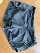 Lululemon Speed Up Shorts, Size 6, Black