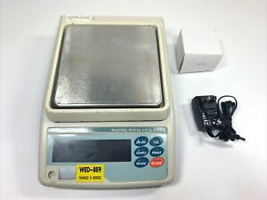 A&D GF-6100 Precision Top Loading Balance Scale 6100g X 0.01g W/ Charger