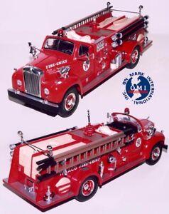 FIRST GEAR 19-2249P TEXACO 1960 MACK B-MODEL PUMPER FIRE CHIEF PROTOTYPE