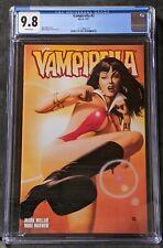 SEPTEMBER 2001 VAMPIRELLA #2 CGC 9.8 NM + Sexy & Rare MIKE MAYHEW COVER- Hot