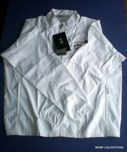 Adidas ClimaProof Jacket Golf Weather Resistant XL white Ryder Cup Celtic Manor