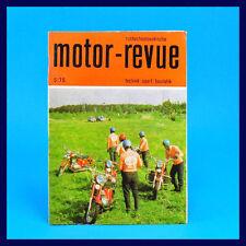 DDR - Motor-Revue 5-1975  (tschechoslowakische) Skoda Jawa  CZ Tatra