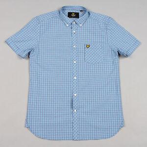 Lyle & Scott Vintage Micro Check Shirt SW403V - Deep Cobalt