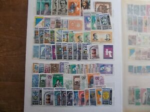Guatemala 1878 - 1981. Collection of mainly used stamps unchecked by me