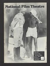 National Film Theatre June 1982 VISIONS OF INDIA