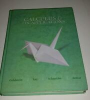 Calculus & It's Applications eleventh edition/ Hardcover / Goldstein/Lay