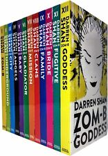 Darren Shan Zom-B Collection 12 Books  Set Goddess, Angels, Clans, Baby, Family