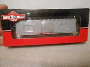 InterMountain Undecorated 5277 Cu Ft Boxcar Kit in Box HO #112