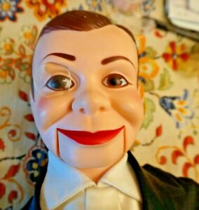 Celebrity Ventriloquist Charlie McCarthy Dummy Doll   1977   NICE