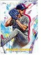 Walker Buehler 2020 Topps Inception 5x7 #26 /49 Dodgers