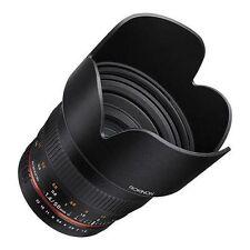 Objetivos normales manuales F/1, 4 para cámaras