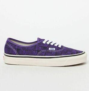 Vans Authentic 44 DX Anaheim Skate Shoes Men Size 8 / Women Size 9.5 Purple