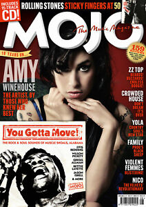 MOJO Magazine #333 – August 2021: Amy Winehouse The Rolling Stone ZZ TOP