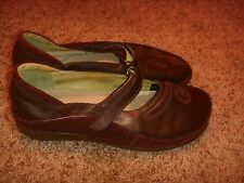 NAOT Matai Mary Jane Shoes Leather /Suede Womens Size 38