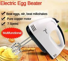 Electric Hand Mini Mixer Food Blender 7 Speed Control Food Processor Egg Beater