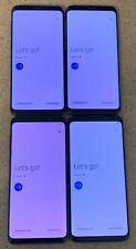 LOT of 4 Samsung Galaxy S9 SM-G960 - 64GB - (Unlocked) Fully Tested