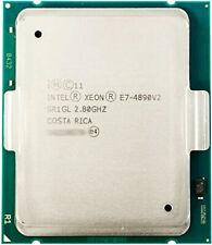 Intel Xeon E7-4890v2 2.80GHz 37.5MB 15-Core CPU 155W SR1GL